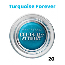 Maybelline color Tattoo 24h 020 Turquoise Forever