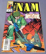 THE 'NAM #82 (Low Print Run) VF+ shape Marvel Comics 1993 Vietnam War