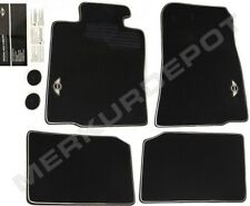 ★ NEW Genuine OEM Mini Cooper Countryman Black Factory Floor Mat Set 4 R60 R61 ★