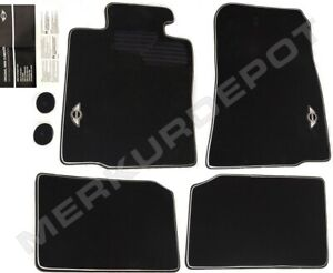 ★ NEW Genuine OEM Mini Cooper Countryman Black Factory Floor Mats Set 4 R60 R61