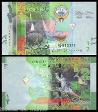 B-D-M Kuwait 1/2 dinar 2014 Pick 30 SC UNC