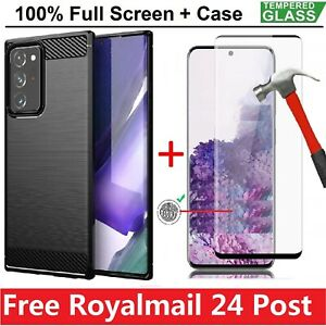 Case For Samsung S21 Ultra A22 A32 A42 A52 5G + Tempered Glass Screen Film Cover