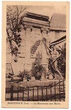 CPSM PF 46 - BRETENOUX (Lot) - Le Monument aux Morts - Ed. Molinié