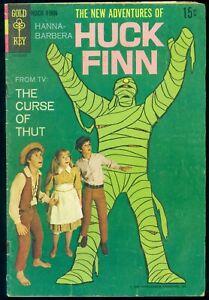 The New Adventures of Huck Finn #1 Gold Key Comics 1968 Mummy Huckleberry Comic
