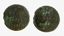 s288_24) GUBBIO I REPUBBLICA ROMANA (1798-1799) MEZZO BAIOCCO Ossidazioni