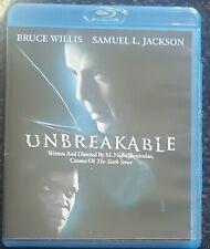 Unbreakable Blu-Ray-Bruce Willis Samuel L. Jackson M. Night Shyamalan