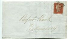 GB QV Line Engraved 1d red Plate 61 on Cover Portadown 375 to Ballymoney Good