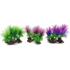 Home Plastic Water Grass Artificial Landscaping Ornament Fish Tank Aquarium 6T
