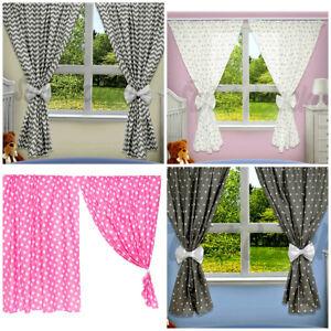Decorative Nursery Baby Room Curtains Set 2 pcs 75/160cm