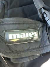 Mares Scuba Vest Navy 840 Origin Large En25Diving Snorkel Tank Oxygen Sea E8