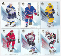 17-18 SP Authentic Erik Karlsson Spectrum FX Unscratched Senators 2017