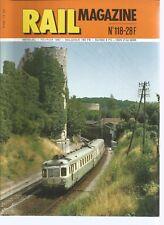 RAIL MAGAZINE N°118 LES 3600 ET 5800 RESEAU ORLEANS / FIN DES RGP - 2  / A 150 D