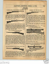 1936 PAPER AD Mossberg Rifle .22 Caliber Crowned Muzzle Spotting Scope Case