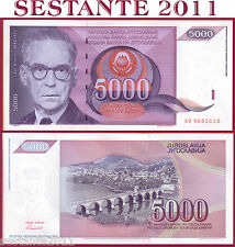 YUGOSLAVIA -   5000 5.000 DINARA  1991 -   P 111  -    FDS / UNC