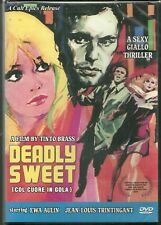 NEW DVD Deadly Sweet (aka Col Cuore in Gola) TINTO BRASS Ewa Aulin - Cult Epics