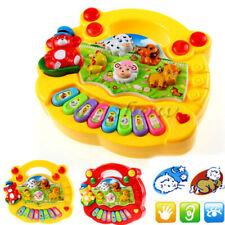 Musik Spielzeug Klavier Cartoon Tiere Elektronisch Instrument Baby Spielzeug Neu
