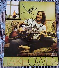 Jake Owen Signed 8x10