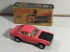 Vintage Matchbox Superfast 54 Ford Capri  in Original Box