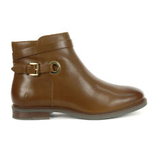 Hush Puppies Women's Bailey Strap Boots Dachshund Leather HW06642-210 NEW!