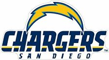 "San Diego Chargers NFL Vinyl Decal Sticker Reflective OFFICIAL NFL 3"" Decal"