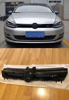 VW GOLF MK7 2013-2017 FRONT CENTRE GRILLE ABT Style Gloss BLACK fit GTI R TDI SE
