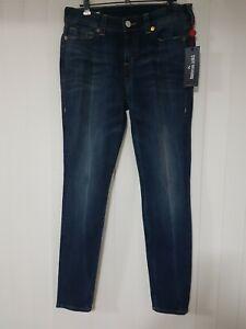 TRUE RELIGION Halle Mid Rise Super Skinny Jeans Women's Ladies jeans Size 30
