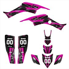 TRX400EX graphics 1999 - 2007 Honda 400EX stickers kit NO3333 Hot Pink