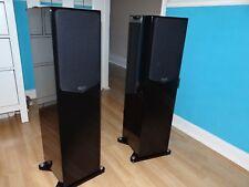 Quad 21L2 Speakers Gloss Piano Black Floorstanding Excellent Condition