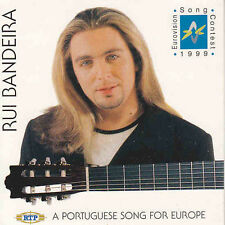 CD Single EUROVISION 1999 Portugal : Rui BandeiraComo tudo comecou 2-Track CARD