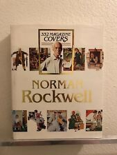 Norman Rockwell 332 Magazine Covers - Huge Hardcover Book - Finch - 1979