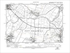 Fen Drayton (N), Swavesey (NW), old map Cambs 1927: 33NW