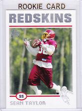 SEAN TAYLOR 2004 Topps WASHINGTON REDSKINS ROOKIE CARD Football NFL RC