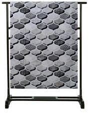 Copriletto Telo arredo 2 piazze Granfoulard Copridivano in cotone grigio