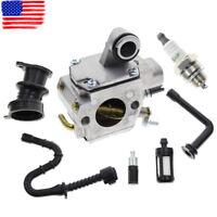 Carburetor Carb Spark Plug Filter For STIHL MS361 MS361C Chainsaw 1135-120-0601