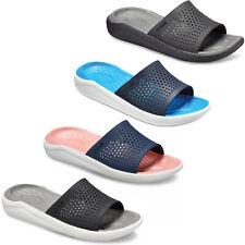 Crocs LiteRide Slide Sandals Unisex Lightweight Cushioned Open Toe Summer Beach