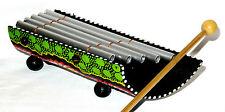 Xylophone Bambou Instrument Musique Bois Artisanat Bamboo métal peint