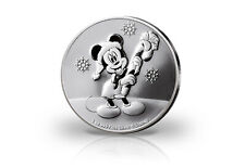 Disneys Mickey Mouse Christmas 1 oz Silber 2020