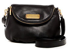 Nwt MARC BY MARC JACOBS $298 Mini New Q Natasha Crossbody Bag Black Gold