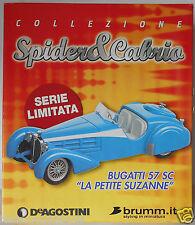 Bugatti 57 SC La Petite Suzanne  Brumm Limited Edition 1/43 Diecast BIG BOX