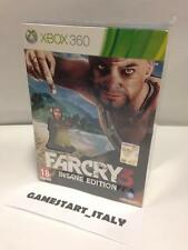FAR CRY 3 INSANE COLLECTOR'S EDITION - XBOX 360 - NUOVO SIGILLATO VERSIONE ITA