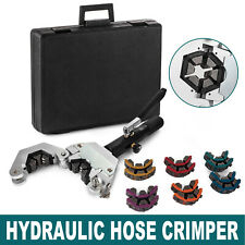 71500 A/C Hydraulic Hose Crimper Kit Air Conditioning Repair Crimping Hand Tools