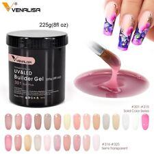 Venalisa 225g French Acrylic Nails Soak Off Led Camouflage Color Hard Jelly Gel