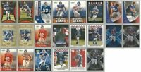 New York Giants 22 card 2008 insert lot-all different