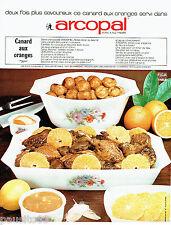 PUBLICITE ADVERTISING 1016  1967  la cocotte en verre  tremé Arcopal