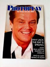 Photoplay - January 1987 - WHY JACK THE RAT IS SMILING - Jack Nicholson