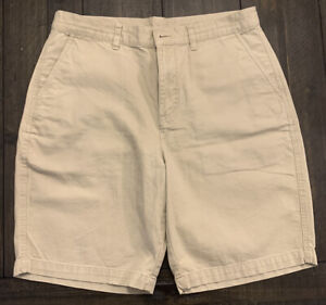 Patagonia Mens Organic Cotton Shorts Size 34 Beige Khaki