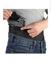 Linixu Belly Gun Holster Abdominal Band Pistol Holster Black Medium Right RH