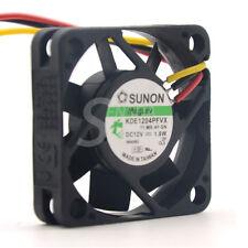 Sunon fan KDE1204PFVX 40*40*10 mm 12V 1.8W with a 3-wire switch server inverter