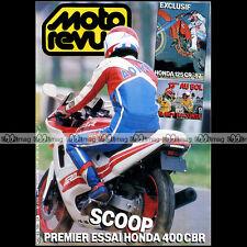 MOTO REVUE N°2769 KTM 125 TOUQUET YZ YAMAHA TZR 250 HONDA CR 125 CBR 400 R 1986
