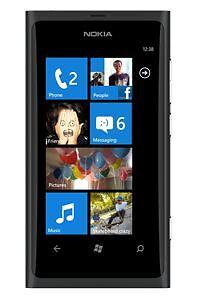 Original Nokia Lumia 800 Black EU UK 3G GSM Windows Mobile Smart Phone Fully BOX